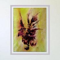 Nr.97/14    Aquarell auf Büttenspezialpapier  Fin Art  60/50 cm inkl. Karton - Passepartout  €  230,-