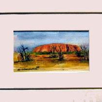 Nr. 15/11  A.   Aquarell auf Büttenspezialpapier  Fin Art 40x28 cm inkl. Karton - Passepartout  € 245,-