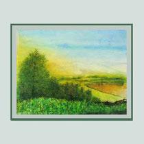 Nr. 14/08  Aquarell auf Büttenspezialpapier  Fin Art 60x50 cm inkl. Karton - Passepartout  € 190,-