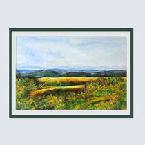 Nr. 14/10  Aquarell auf Büttenspezialpapier  Fin Art 60x50 cm inkl. Karton - Passepartout  € 250,-