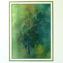 Nr.98/04  Aquarell auf Büttenpapier  Fin Art 50x40 cm inkl. Karton - Passepartout  €  180,-