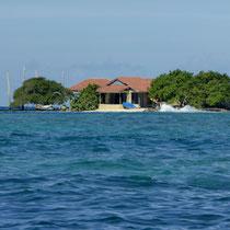 Bild: Insel der Islas de Rosario