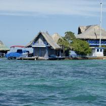 Bild: Eine der 28 Inseln von Islas de Rosario