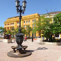 Bild: Platz in Cartagena