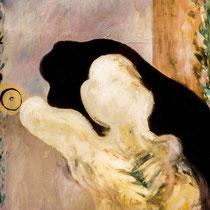 GELEITSCHUTZ, 1989, 80 cm x 100 cm, Öl auf Leinwand
