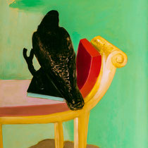 ZEITENWENDE 1, (Diptychon), 1989, 80 cm x 100 cm, Öl auf Leinwand