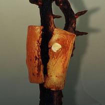 FIGUR EINES KRIEGERS, 1983, Keramik