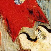 DRAMATURGIE DES SCHEITERN, 1989, 60 cm x 80 cm, Öl auf Leinwand