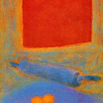 """Aus dem Zyklus """"NATURA MORTA"""", 1994, 56 cm x 76 cm, Pastellkreide"""