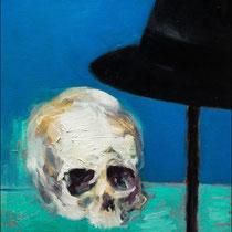 HOT AFTERNOON, 1993, 30 cm x 40 cm, Öl auf Leinwand