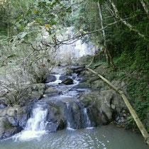 Kleiner und grosser Wasserfall