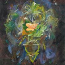 EST-CE QU'IL REVE EN COULEURS ? #2 - Peinture acrylique sur toile - 130 x 162 cm