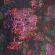 OURAH ! - Peinture acrylique sur papier - 51 x 41 cm (encadré)