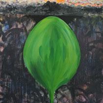 SNOOK BUSINESS - Peinture acrylique sur toile - 130 x 162 cm