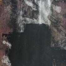 LA CUCARACHA - Peinture acrylique sur papier poncé - 51 x 41 cm (encadré)