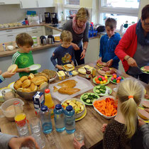 Forscherwerkstatt Milte Kids - Ostern 2017 - Abschluss