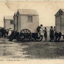 Cabines de bain à Calais