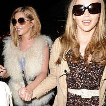 07/07/2011 - Cheryl Cole et Kimberley Walsh, dans les rues de Los Angeles.