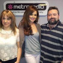 "26 avril 2012 - Cheryl à Metro Radio Manchester pour la promo de ""Call My Name""."