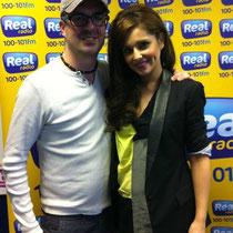 "26 avril 2012 - Cheryl à Real Radio Scotland pour la promo de ""Call My Name""."