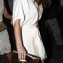 01/07/2011 - Kimberley Walsh, invitée à sa fête d'anniversaire.