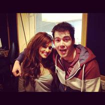 """26 avril 2012 - Cheryl à Capital FM pour la promo de """"Call My Name""""."""