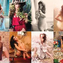 21/08/2011 - Quelques images de son calendrier 2012.