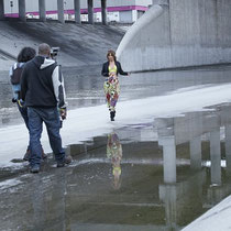 "Avril 2012 - Photo du tournage du clip ""Call My Name"""