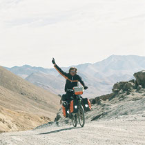 Piotr - Cycling around the world (Cycled together in Tajikistan)
