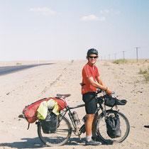 Humphrey - Cycling London to Hong Kong (Cycled together in Uzbekistan and Kazakhstan)