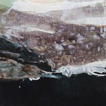 Tusche auf Leinwand / ink on canvax 60 x 60 cm
