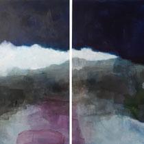 Acryl auf Leinwand / acrylic on canvas 2 x    90 x 120 cm