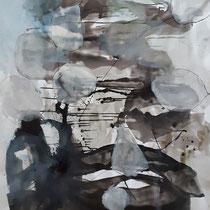 Mixed media auf Leinwand / on canvas 115 x 150 cm