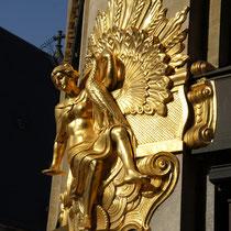 Fassadenteil eines Bankgebäudes