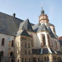 Nikolaikirche, hier haben die Montagsdemonstrationen statt gefunden