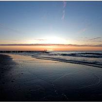 Sonnenuntergang Domburg NL