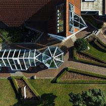 Luftbild - Unternehmen Krethe GmbH in Cadenberge