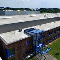 Luftbild - Unternehmen Hexal AG in Stade