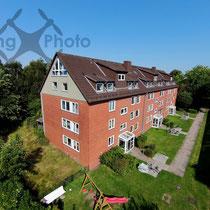 Luftbild - Mehrfamilienhaus in Hamburg
