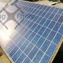 Luftbild - Solaranlage