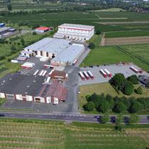 Luftbild - Unternehmen Spedition Pape