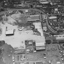 1953 Aerial photo of the airport