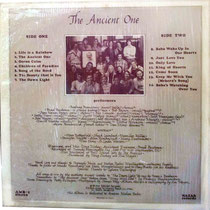 The Ancient One - back cover ( LP )