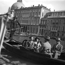 MSI Collection : Venice, Italy - 5 April 1932- Kaka is nearest to camera