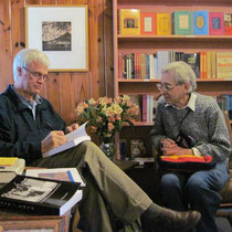 Bob with David Silverman
