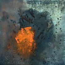 heart on fire/ 50x50cm