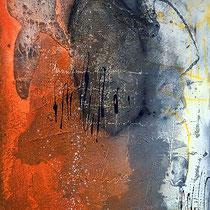 verkauft, orange 2/ 60x80cm