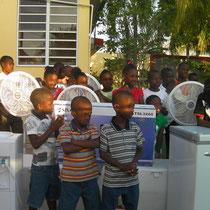l'association Coeurs pour le Monde a pu faire ces achats grâce aux dons versés