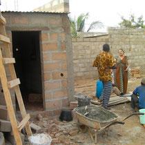autre construction de cuisine attenante à la maison d'une veuve