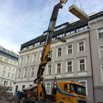 Materialanlieferung Wien